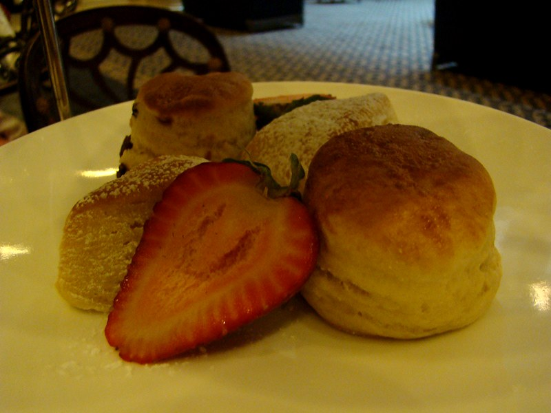 King Edward Hotel scones