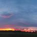 Small photo of Fiery Sunset Pano