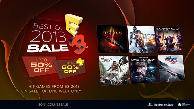 Best of E3 2013 Sale