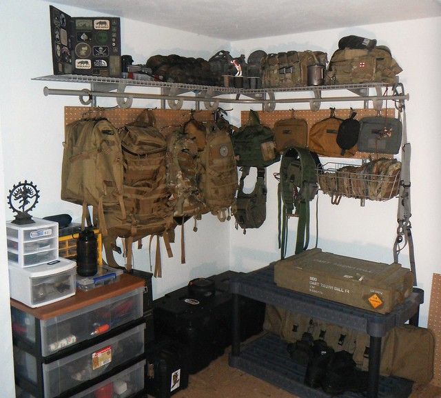 Gear room flickr photo sharing for Is ready set decor legit