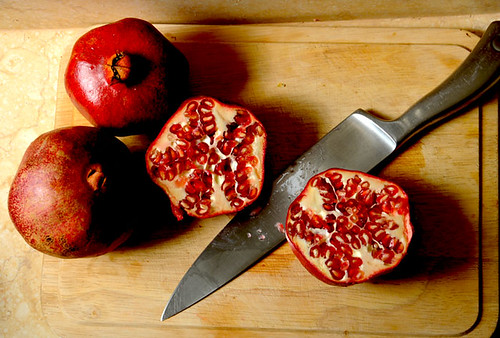 my pomegranates 1 by sierragoddess