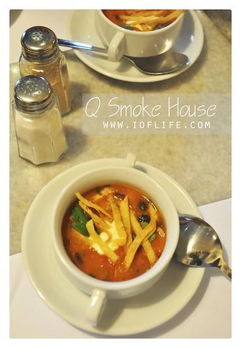 Fajitas soup Qsmoke - mexico