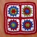 Colourful Crochet Doily by bunny mummy