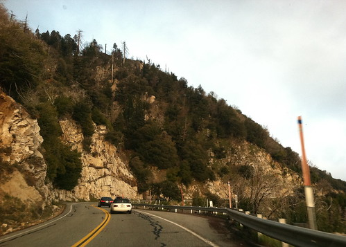 Highway 18 up to Lake Arrowhead