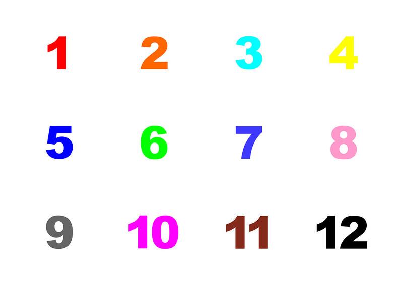 Шаблон-Цифры
