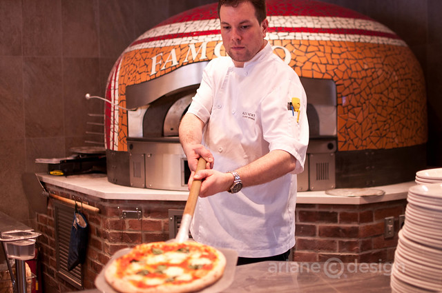 Famoso Pizzeria Culinary Manager, Alex Newton