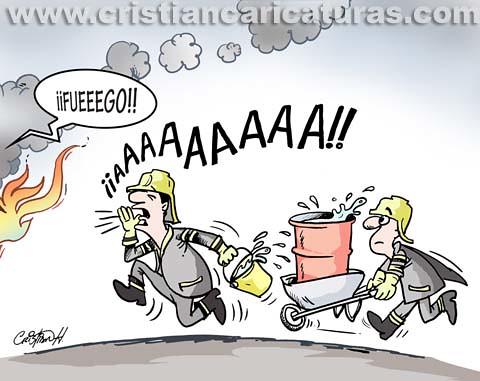 Resultado de imagen para CARICATURAS DE BOMBEROS