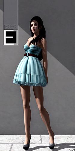 [Echo] Grazioso Corset Dress