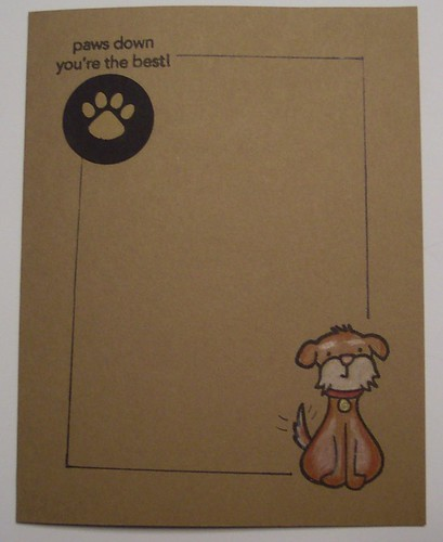 Paws Down Card
