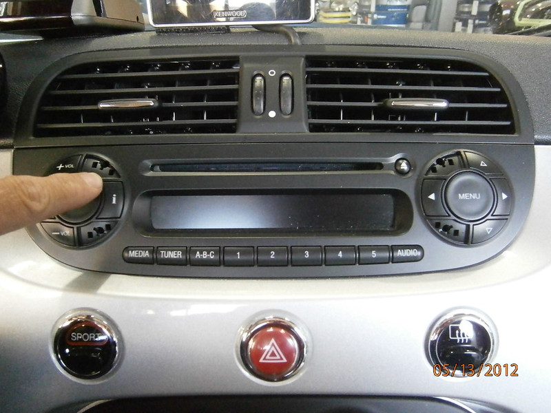 how to 2012 fiat 500 double din radio install. Black Bedroom Furniture Sets. Home Design Ideas
