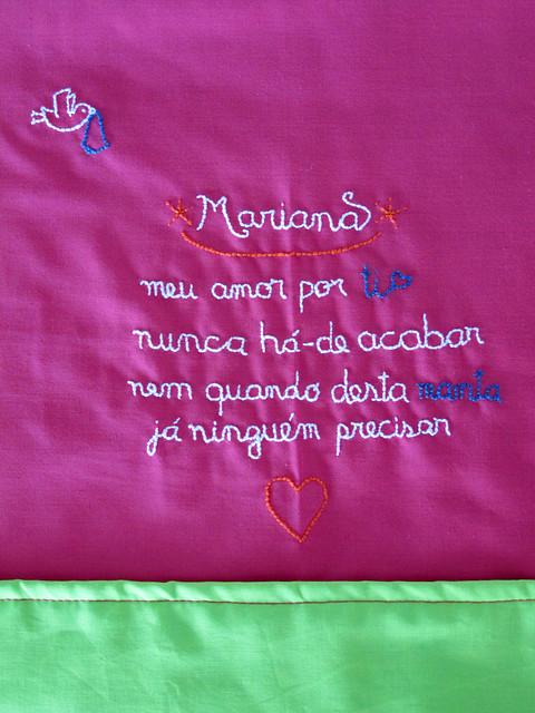 """""""Mariana"""" baby blanket"""