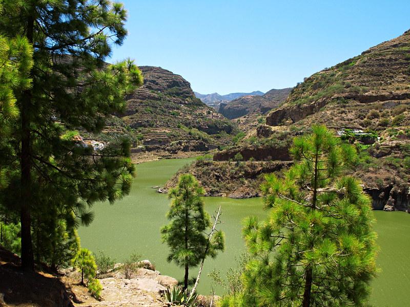Pérez Dam, Gran Canaria