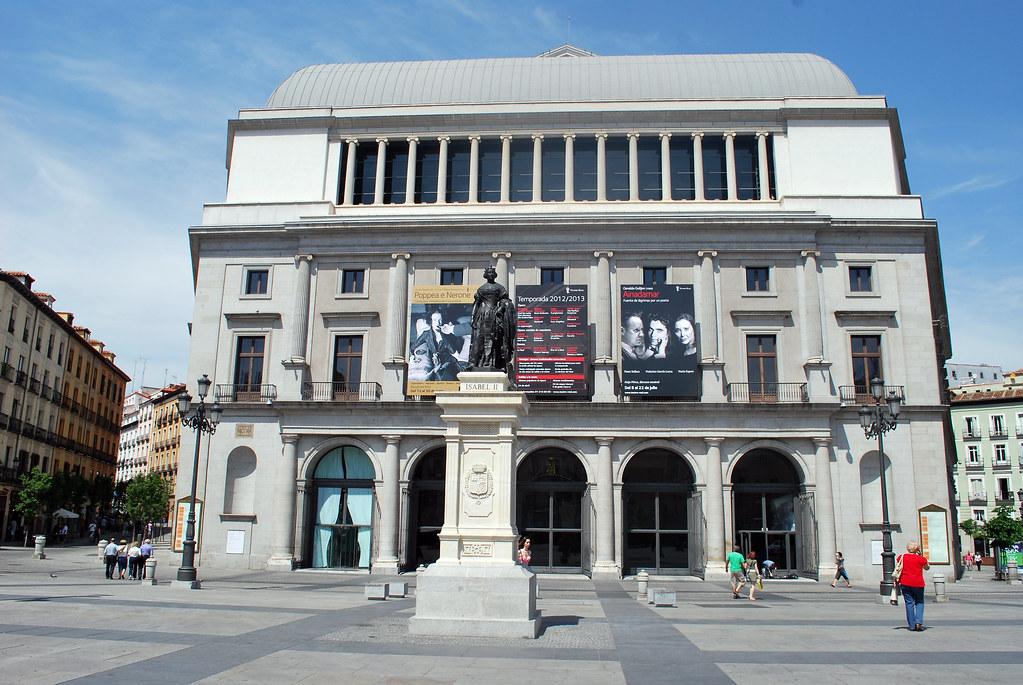 Teatro Real, Plaza de Isabel II, Madrid, Spain