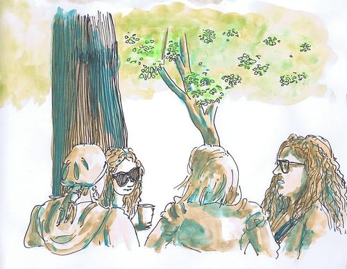 2012-06 pessoas na esplanada do jardim