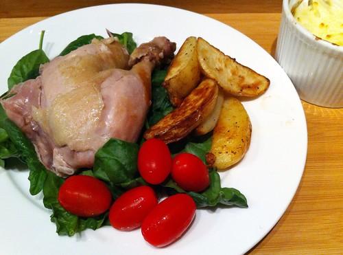 Served - Salt Dough Baked Chicken by mjd-s