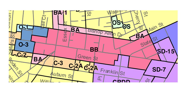 Zoning Map of Central Square