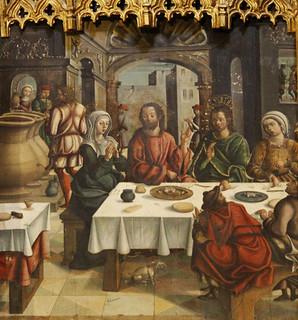 """""""Las Bodas de Caná"""", de la Parroquia de San Facundo,  en Cisneros, una de las obras que podrán verse en """"Eucharistia""""."""