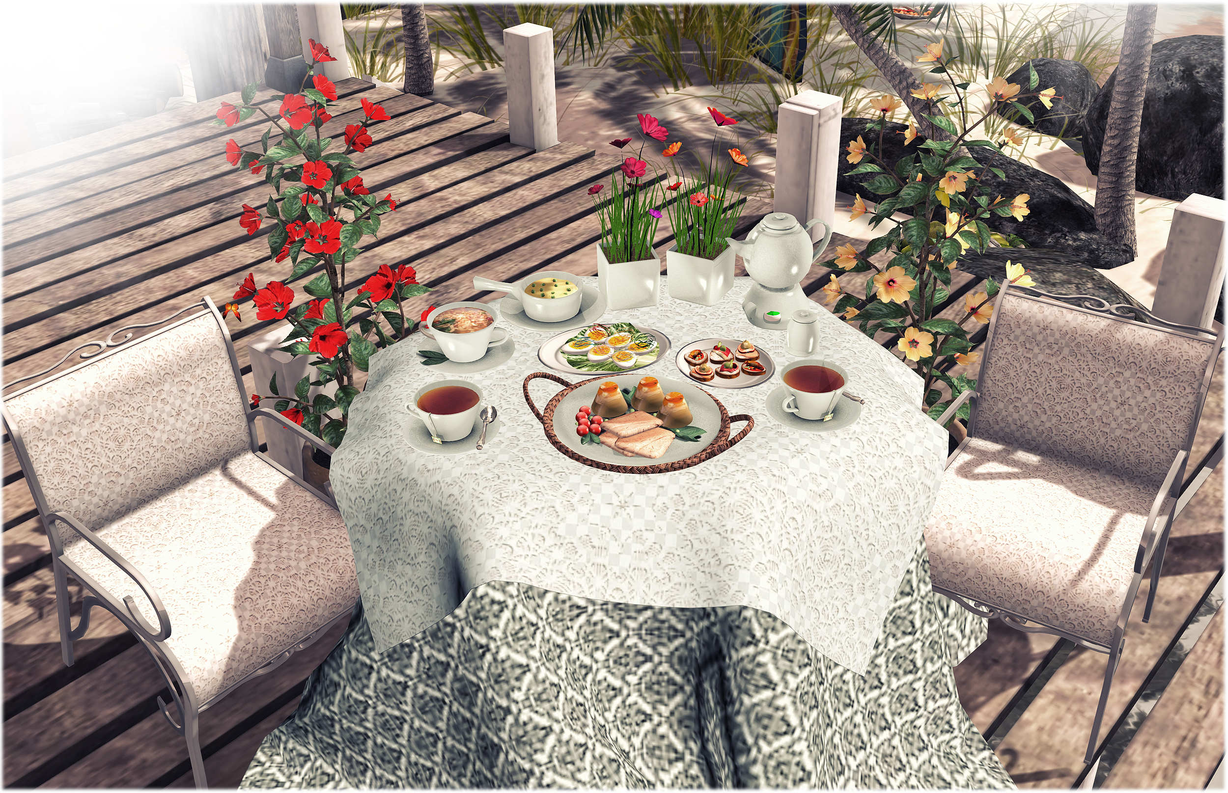 "Aphrodite ""Summer Joy"" Brunch garden set"