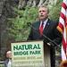 5-12-14 Governor McAuliffe and the Secretary of Natural Resources Molly Ward Visit Natural Bridge