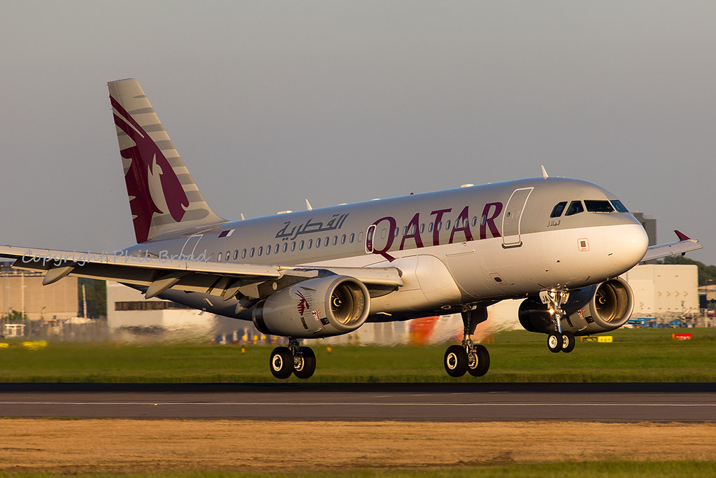 Qatar Airways Airbus A319/LR A7-CJA
