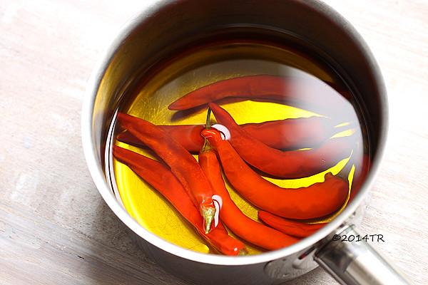 自製辣油 Homemade chili oil-20140523