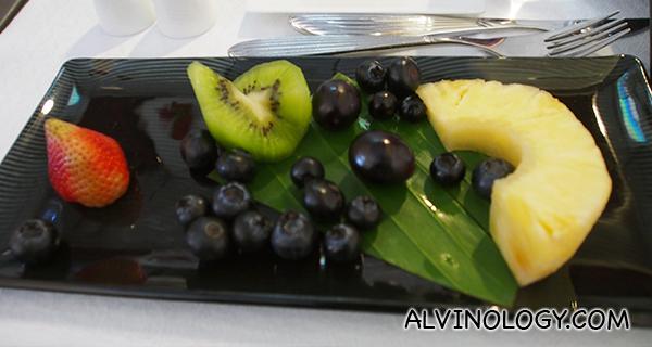 Another fruit platter