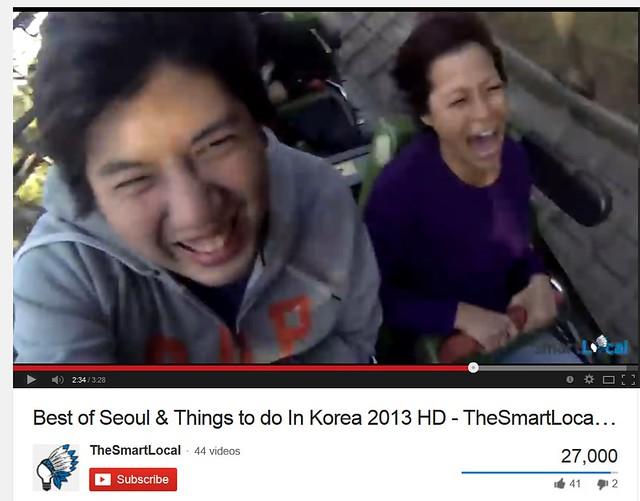 thesmartlocal video - Korea Oct 2013 - KTO Asian On Air