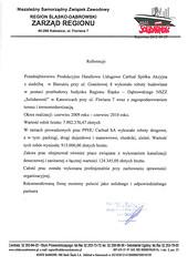 Referecje NSZZ Solidarność 2012