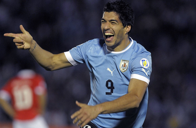 Uruguay Chile WCup Soccer
