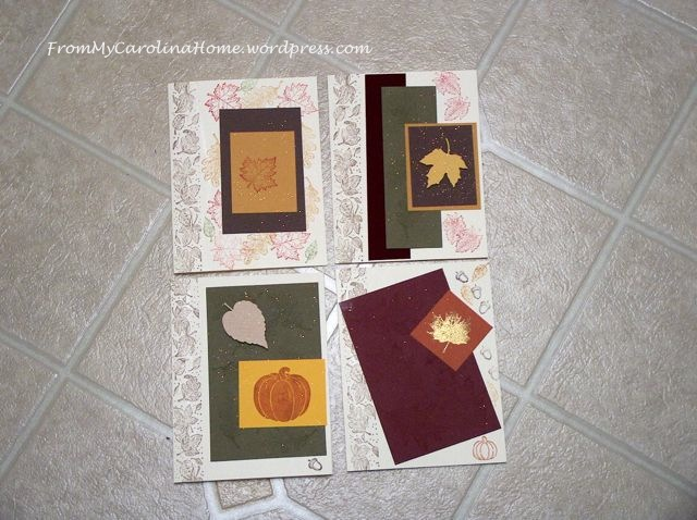 Fall cards