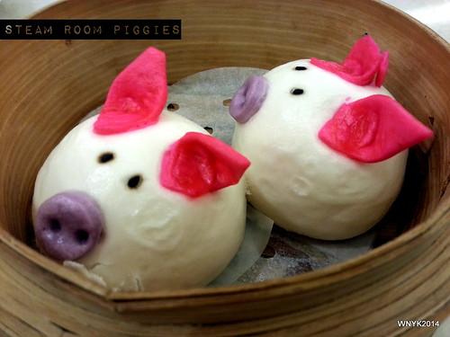 Steamroom Piggies