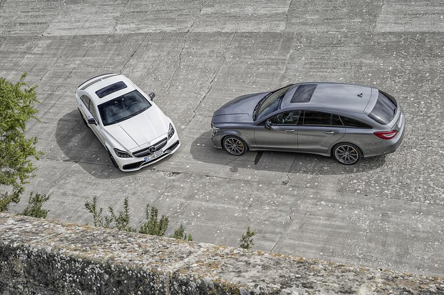 Mercedes-Benz CLS 63 AMG & CLS Shooting Brake 63 AMG.