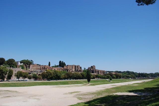 Circus Maximus park view