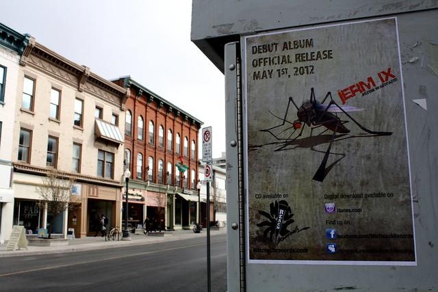 Jerm Warfare album promo poster