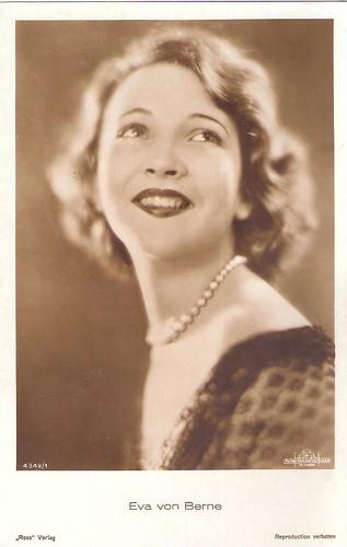 Actress Eva Von Berne (1910-2010)
