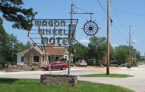 route66 missouri motels wagonwheelmotel cubamo crawfordcountymo