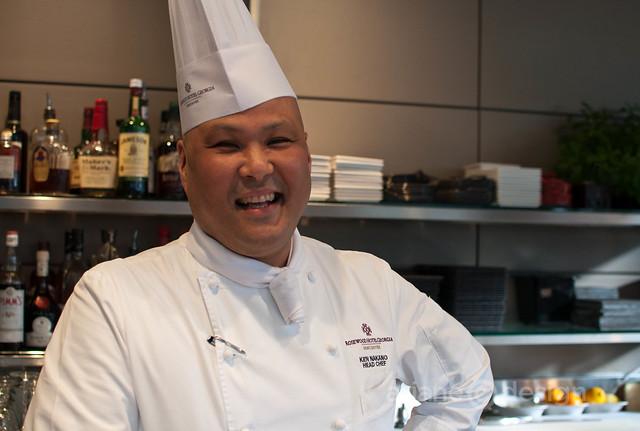 Ken Nakano, Head Chef, Rosewood Hotel Georgia