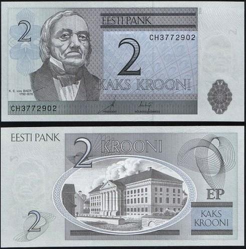 2 Krooni Estónsko 2006