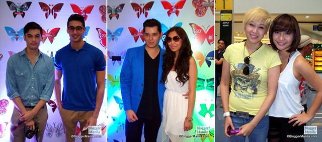 SM iButterfly Launch Celebrities