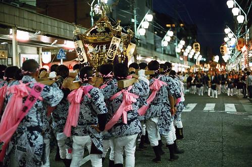 二十三区魚がし / 松原神社例大祭 2012 by Lono_Luno