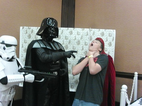He Found My Lack Of Faith Disturbing.....