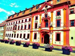 """Now I'm here: """"Thüringer Staatskanzlei"""" Erfurt."""