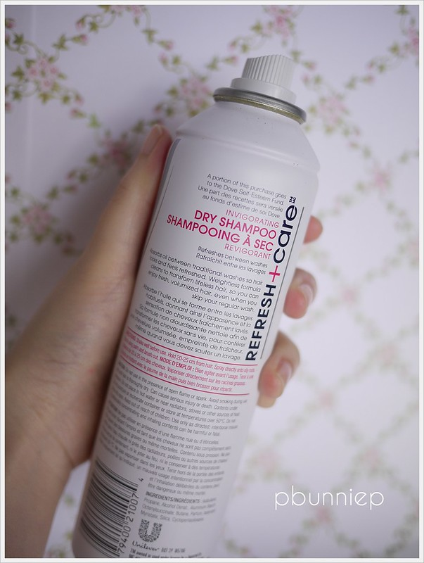 DOVE Invigorating Dry Shampoo