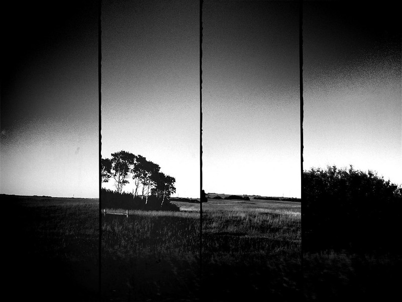 prairie study through a car window 1