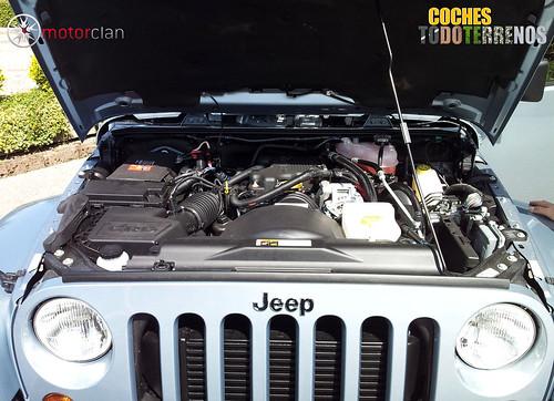 Motor del Jeep Wrangler Arctic