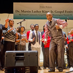 13-005 -- Rev Spencer Gibson and the Integrity Singers from Peoria performed at the Dr. Martin Luther King, Jr. Gospel Festival.