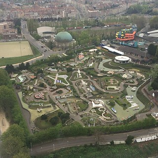 Mini-Europe from the Atomium!