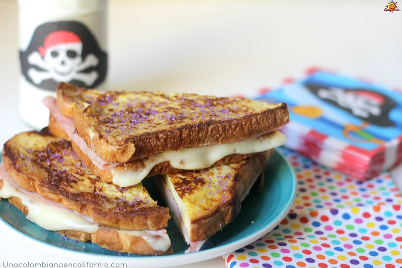 Sandwiches de tostadas francesas