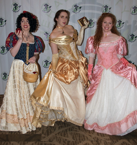 Snow White, Belle, Ariel