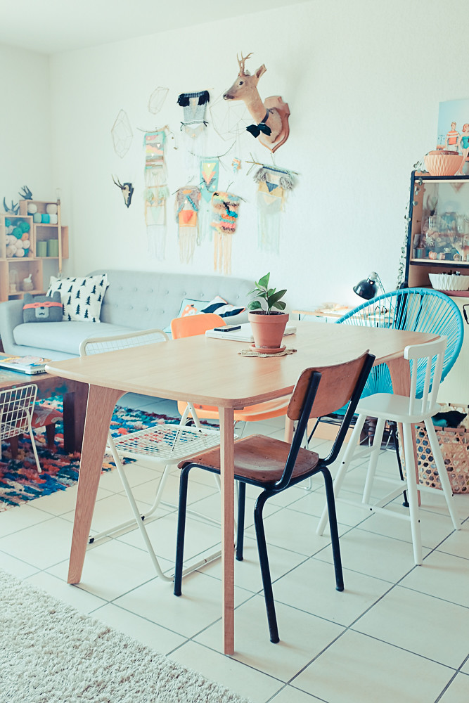 table MADE et déco vintage